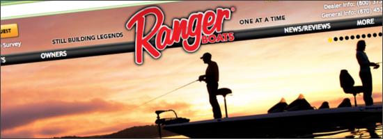 Rangerboatsトップページ